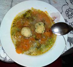 Minestrone s knedličkami., recept | Naničmama.sk
