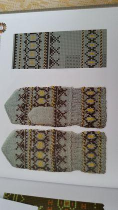 Mittens Pattern, Knit Mittens, Knitted Gloves, Knitting Stitches, Free Knitting, Knitting Patterns, Crochet Patterns, Drops Design, Hogwarts