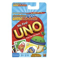 My First UNO Team Umizoomi Edition Card Game