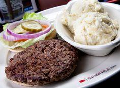 Lo-cal Bison Burger