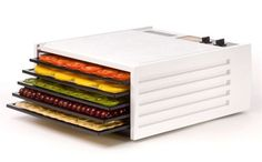 #Excalibur #Dehydrator White 5 drawers  Order online at http://www.freshmix.nl/product/excalibur-5-laden-wit/