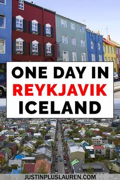 Here's how to spend one day in Reykjavik Iceland for a layover or the start of an Iceland road trip. This Reykjavik itinerary is the best way to spend your day in the city. 1 Day in Reykjavik Iceland Travel Tips, Iceland Road Trip, Europe Travel Tips, Travel Guides, Travel Plan, Travel Destinations, Landscape Photography Tips, Scenic Photography, Aerial Photography