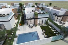 New Build Homes for sale with sea views in Almeria Spain, coastal spanish properties to buy.