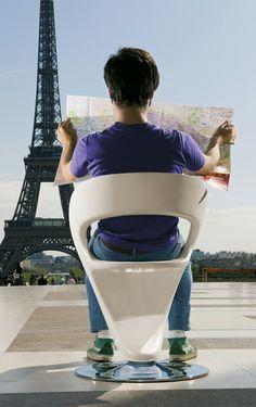 Pin Up chair by Studio Zetass for Infiniti