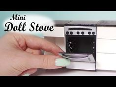 Miniature Oven/Stove Tutorial - Dollhouse Stove - YouTube