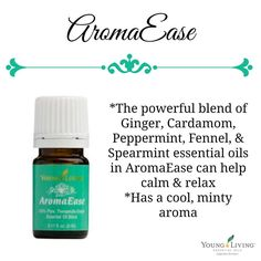 AromaEase is a flex oil in the Premium Starter kit. Your kit will be shipping right away. Get yours today from www.theoildropper.com/premiumkit with EXTRA BONUS GIFTS!