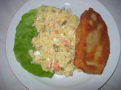 Fotorecept: Sviatočný zemiakový šalát