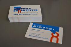 Logo en huisstijl ontwerp voor Niels Broekzitter Internet Marketing.