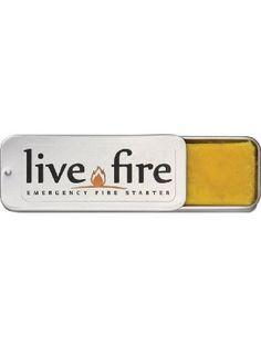 Live Fire Original - Emergency Fire Starter ❤ Live Fire
