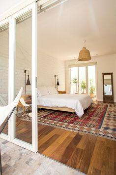 beautiful, open, airy bedroom