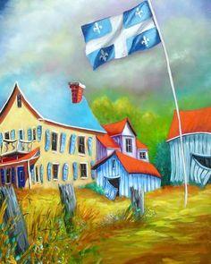 Quebec flag - Guy Morest