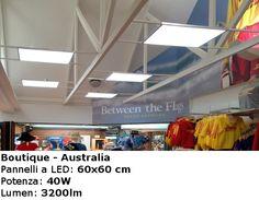 Boutique - Australia  Pannelli a Led