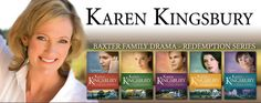The Redemption Series by Karen Kingsbury :) the series that started my obsession with the Baxter family and Karen's books!
