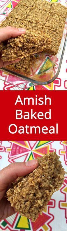 Baked Oatmeal - it's like having cake for breakfast, but HEALTHY! I LOVE, LOVE…
