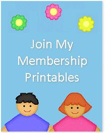 childcareland.com - Early Learning Activities For Pre-K and Kindergarten; free printables