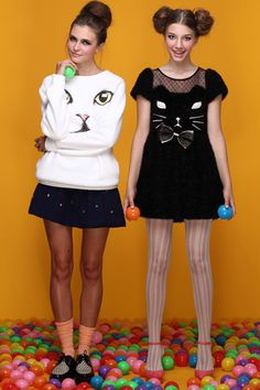 Is it weird that I kinda want one of these cat dresses?
