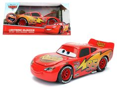 "JADA 98099 DISNEY PIXAR ""CARS"" MOVIE LIGHTNING MCQUEEN DIECAST MODEL CAR   <a class=""pintag searchlink"" data-query=""%23JadaToys"" data-type=""hashtag"" href=""/search/?q=%23JadaToys&rs=hashtag"" rel=""nofollow"" title=""#JadaToys search Pinterest"">#JadaToys</a>"