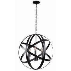Design Craft Encompass 3-light Pendant
