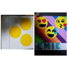 Emoji party canvas painting 9th Birthday, Birthday Ideas, Birthday Parties, Emoji Painting, Logo New, Celebrate Good Times, Paint And Sip, Art Party, Slumber Parties