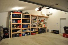 How To Build Sturdy Garage Shelves Step By Step
