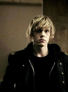 Find images and videos about american horror story, ahs and evan peters on We Heart It - the app to get lost in what you love. Evan Peters, Tate Ahs, Pretty People, Beautiful People, He's Beautiful, Tate And Violet, American Horror Story 3, Bae, Moustaches