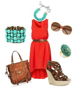 Summahhhh chic(:, created by rssoftball on Polyvore