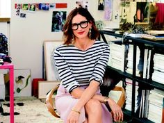 jenna in stripes.