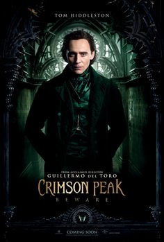 See four new Crimson Peak character posters. Mia Wasikowska, Tom Hiddleston, Jessica Chastain, and Charlie Hunnam lead the Guillermo del Toro movie. Scary Movies, Great Movies, Hd Movies, Horror Movies, Movies Online, Loki Meme, Mia Wasikowska, Tom Hiddleston Crimson Peak, Tom Hiddleston Loki
