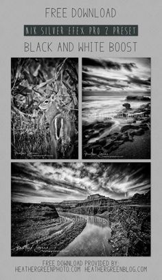 FREE Nik Silver Efex Pro preset, PLUS links to other free presets!
