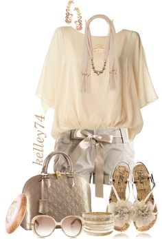 """Nude"" by kelley74 on Polyvore"