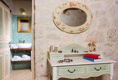 Artistic details of the Warm Colors, Villas, Double Vanity, Apartments, Home Decor, Decoration Home, Room Decor, Warm Paint Colors, Villa