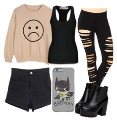 """""""ootd 22/09/15"""" by crazymofoxd1 ❤ liked on Polyvore featuring adidas"""