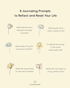 Who else needs a good life reset? ✨ Here are some prompts for self reflection and feeling refreshed. More free journaling prompts & self improvement motivation at lavendaire.com 💜 Bullet Journal Ideas Pages, Bullet Journal Inspiration, Journal Prompts, Morning Pages, Self Development, Personal Development, Manifestation Journal, Stream Of Consciousness, What Can I Do