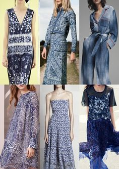 Pre Spring/Summer 2016 Catwalk Print & Pattern Trend Highlights - Marc Jacobs / Sea / Fendi / See by Chloe / Tadshi Shoji / Rebecca Taylor