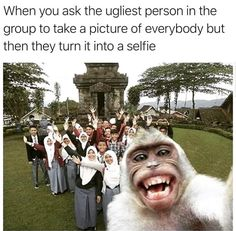 Selfie of the millenium. Funny Gags, Funny Pranks, Funny Memes, Diy Funny, Jokes, Epic Fail Pictures, Best Funny Pictures, Hilarious Photos, Meme Pictures