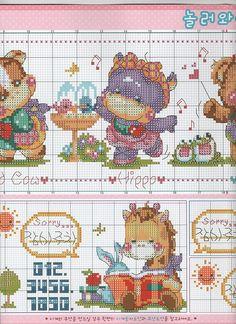 Beading Patterns, Crochet Patterns, Bear Cartoon, Perler Beads, Baby Animals, Cross Stitch Patterns, Kids Rugs, Album, Bolo Fake
