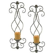 Estelle Candle Wall Sconce - Set of 2