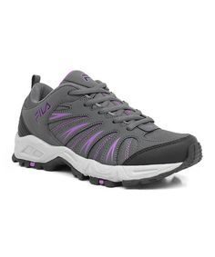 Look what I found on #zulily! Charcoal & Purple Trailbuster 2 Sneaker - Women #zulilyfinds