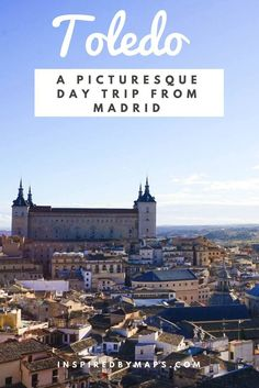 Toledo Spain Attractions - A Picturesque Day Trip From Madrid. Spain travel places to visit/ Spain Photography! toledo spain things to do in. Toledo Cathedral. european travel destinations top 10 ☆☆ Travel Guide / Bucket List Ideas Before I Die By #Inspiredbymaps ☆☆