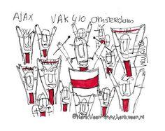 Vak 410 door Henk Veen #Ajax