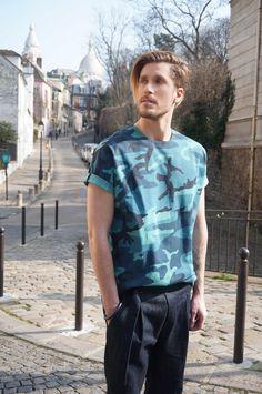Outfit Paris CAMO - Pantalon Toile de Nîmes - Butte Montmartre - Paris / SAUDADE DE PARIS /