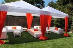 Elegant Love The Drapery!outdoor Graduation Party Ideas For Guys Archives    Decorating Of Party