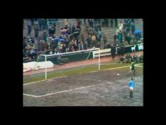 VIDEO: Manchester City 1 West Ham United 5, March 21, 1970. This First Division game was notable for TWO reasons. Firstly it saw the West Ham debut of JImmy Greaves who continued his record of scoring on his bow for every team with a quickfire double. Then came a Match of the Day favourite, Ronnie Boyce's goal from the halfway line direct from a clearance by Man City keeper Joe Corrigan... who found the ball sailing over his head as he jogged back into goal