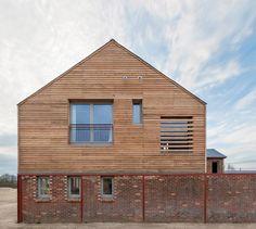 Timber Frame House in Leighton Buzzard, England, UK by A-Zero.
