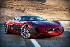 The Rimac Concept One is an electric supercar designed and developed by Croatian company Rimac Automobili