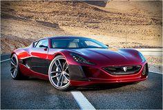 Supercar d'hier... retour sur... la Rimac Concept ONE.