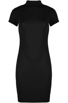 ❤ Neuf Noir Sheer Applique manches Bandage Knit Bodycon Wiggle Dress 8 10 12 14