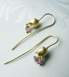 Belle Solid Hook Earrings - Alexis Dove - 80£