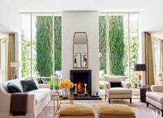 A Dated 1950s Hollywood Hills Home Becomes a Refined and Light-Filled Residence Photos | Architectural Digest