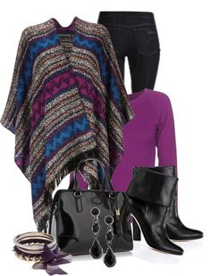 """Aztec Wrap"" by natasha-gayden ❤ liked on Polyvore"